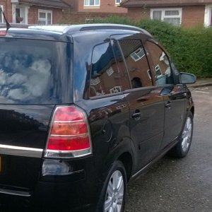 My 2006 Zafira 1.6 Active